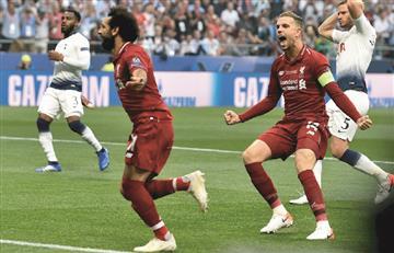 Liverpool levanta su sexta Champions League tras vencer a Tottenham