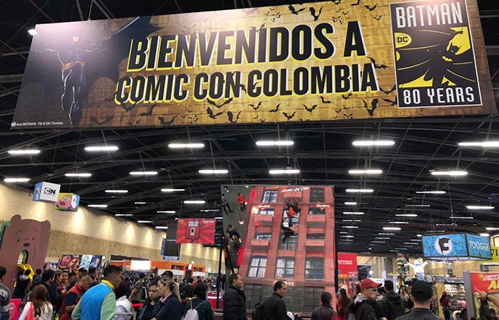 La Comic Con Colombia concluirá este lunes 3 de junio. Foto: Twitter