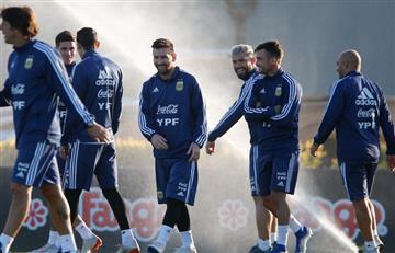 ]FOTOS] Argentina ya entrena con todas sus estrellas de cara a la Copa América