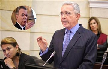 ¡Vuelve y juega! Uribe nuevamente aseguró que Santos recibió sobornos de Odebrecht