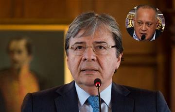 """""""Quiere enlodar mi nombre"""": Así fue la respuesta de canciller colombiano tras críticas de Diosdado Cabello"""