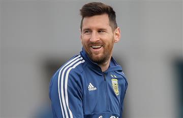 """""""No somos favoritos para ganar la Copa América"""", Lionel Messi"""