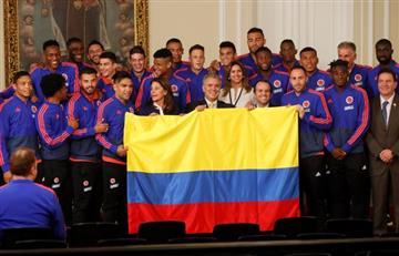 [FOTOS] ¿Buena o mala suerte? Presidente Duque despide a la Selección Colombia en Casa de Nariño