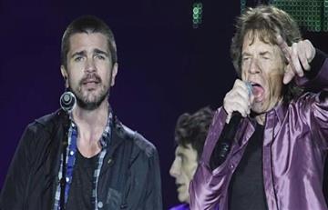 ¡Felicitaciones! Juanes, invitado especial de los Rolling Stones en Miami