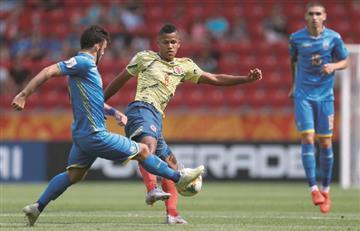 La Selección Colombia Sub 20 se despide del Mundial de Polonia
