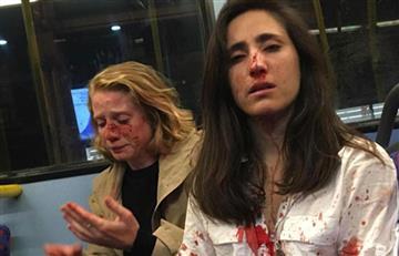 ¡Increíble! Pareja de lesbianas fue atacada por no querer besarse en público