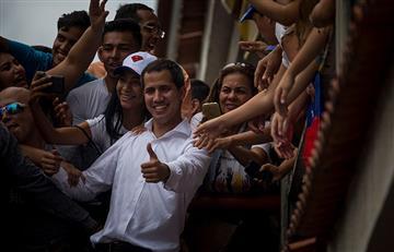 ¿Será verdad? Guaidó atribuye apertura de frontera a presión ciudadana