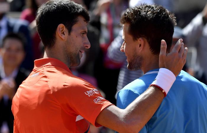 Roland Garros: Novak Djokovic derrota Dominic Thiem