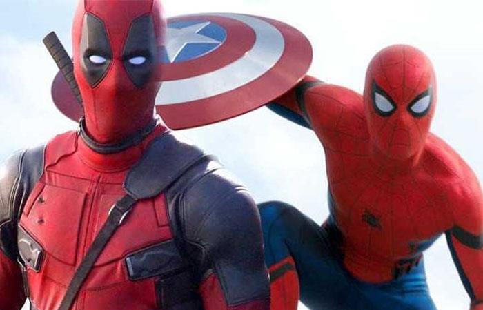 Spiderman podría ser quien presente a Deadpool en el UCM. Foto: Twitter