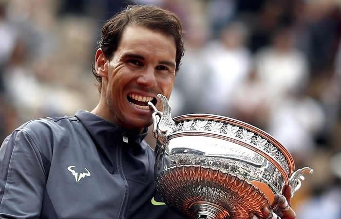 Rafael Nadal campeón en Roland Garros. Foto: EFE