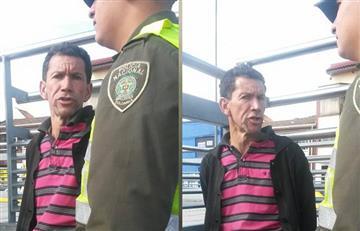 ¡Por fin! Capturan a alias 'El Pulpo', hombre que acosaba a mujeres en TransMilenio
