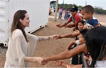 Esta fue la impresión que se llevóAngelina Jolie de Colombia en su visita