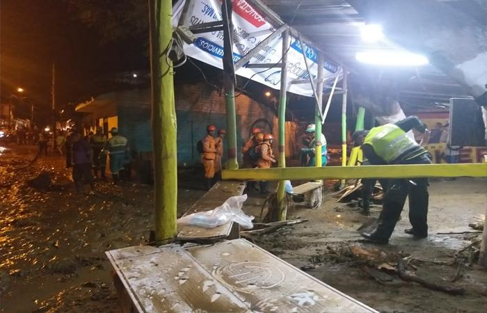 Lluvias causaron destrozos en Roldanillo, Valle del Cauca