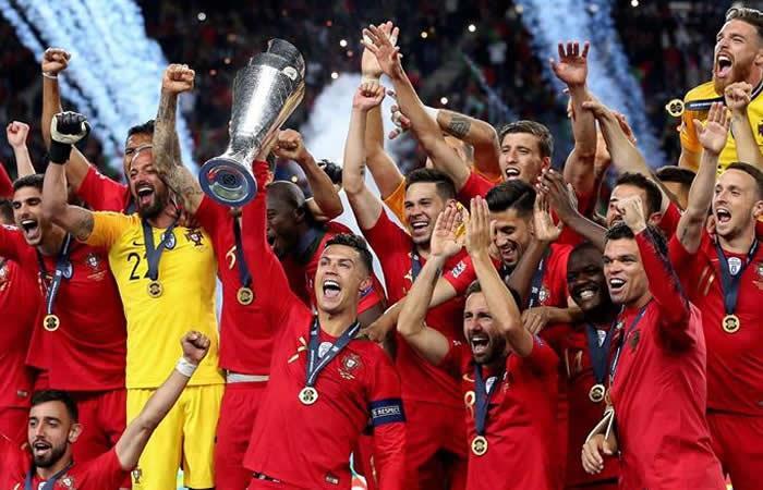 Portugal campeón Liga de Naciones. Foto: EFE