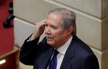 [VIDEO] Dura discusión de representantes durante la moción de censura al ministro de Defensa