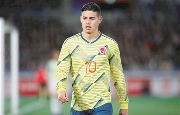 James Rodríguez está entre las 10 máximas figuras de la Copa América 2019