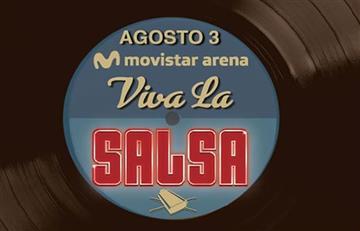 Muy pronto 'Viva la salsa' al Movistar Arena