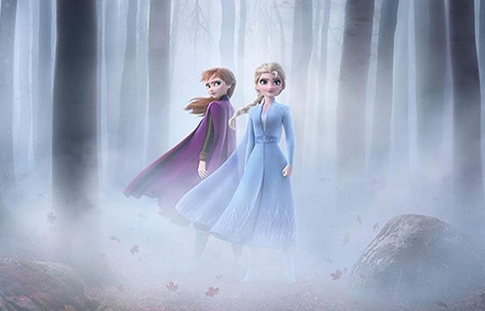 Princesas Elsa y Anna emprenden un nuevo y arriesgado viaje. Foto: Instagram/disneystudiosla