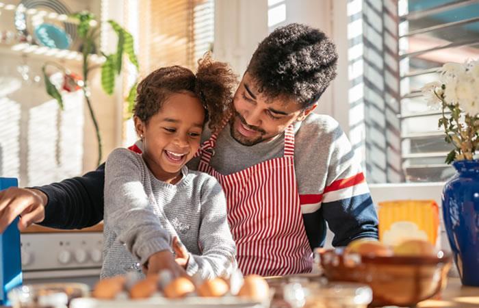 Los padres que les gusta verse y sentirse bien disfrutarán estos menús. Foto: Shutterstock