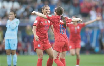 ¡Increíble! Goleada histórica de Estados Unidos a Tailandia en Mundial Femenino