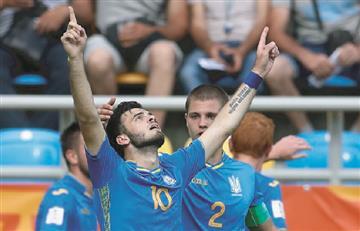 Ucrania clasifica a la final del Mundial Sub 20