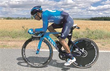 [VIDEO] Nairo Quintana se mantiene en el top 10 de la Critérium del Dauphiné 2019 finalizada la cotrarreloj