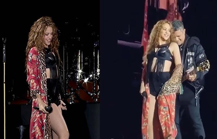 Grabaciones de Shakira en su show en Barcelona confirmarían que está embarazada