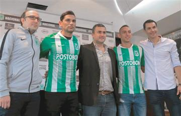 Estos son los jugadores que llegan a Atlético Nacional para la Liga Águila 2019-ll