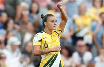 [VIDEO] Así logró Australia su primera victoria en el Mundial Femenino