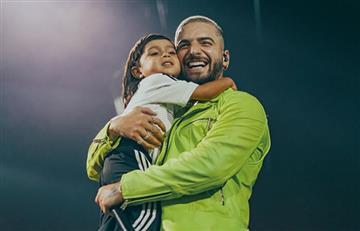 Maluma será premiado por invitar a los jóvenes a luchar por sus sueños