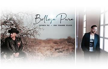 'Belleza pura': Nuevo lanzamiento de Espinoza Paz junto a Juan Fernando Velasco