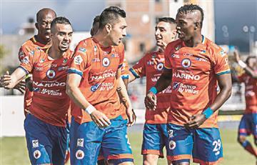 """[VIDEO] """"Viera hijo de pu@#$%"""" la respuesta de los jugadores de Deportivo Pasto"""