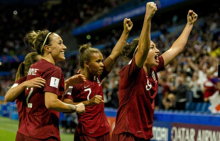 Mundial Femenino 2019: Inglaterra derrota a Argentina