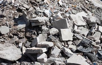 Derrumbe de una fachada en chapinero dejó muertos y heridos de gravedad