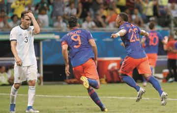 Colombia le dio 'mate' a Argentina en la Copa América