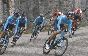 [VIDEO] Nairo cede terreno en la etapa reina del Critérium del Dauphiné