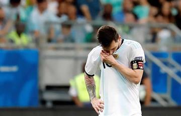 Esto piensa Messi tras derrota ante Colombia