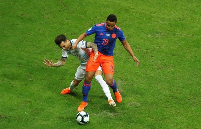 Muriel no va más con Colombia en Copa América