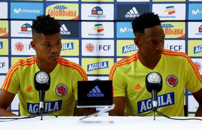 Copa América: Declaraciones de Yerry Mina en rueda de prensa