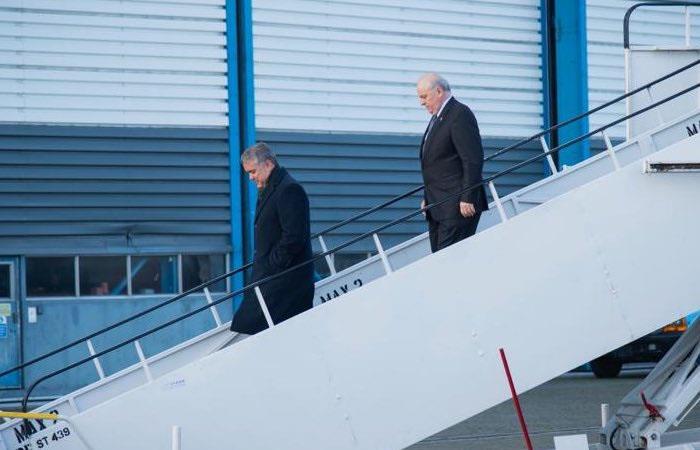 Duque llega a Reino Unido