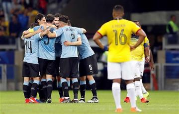 Así fue la goleada de Uruguay a Ecuador