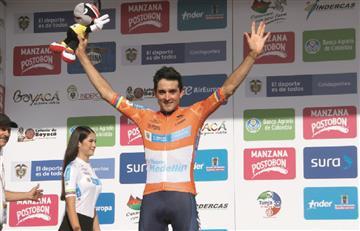 [VIDEO] Óscar Sevilla es el primer líder de la Vuelta a Colombia