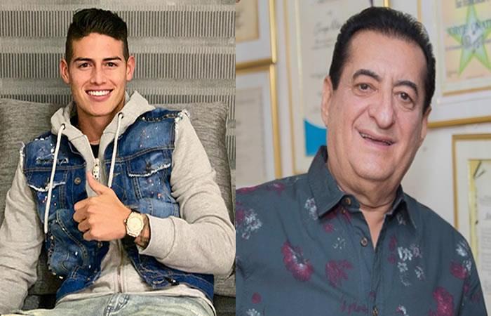 Filtran chat de parranda vallenata que ya tiene lista James Rodríguez con Jorge Oñate