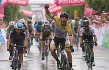 William Muñoz sorprende en la etapa 1 de la Vuelta a Colombia
