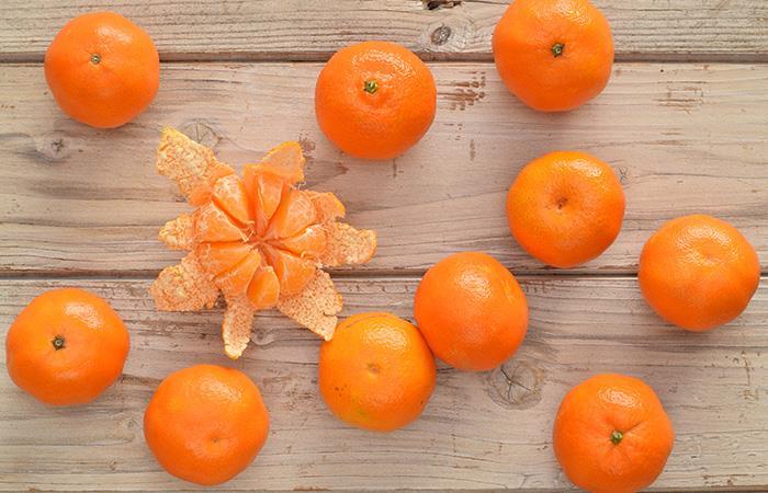Beneficios cáscara de mandarina
