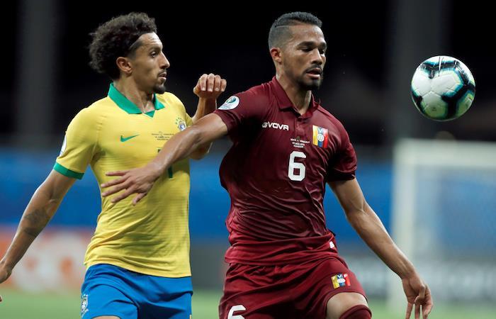Copa América: Venezuela saca un importante empate ante Brasil
