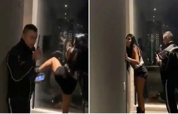 Marcela Reyes formó un escándalo por los 'cachos' que le habría montado su novio