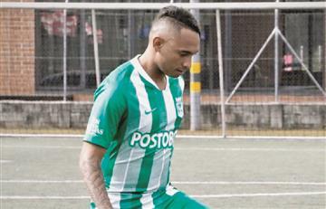 Jarlan Barrera ya viste los colores de Atlético Nacional