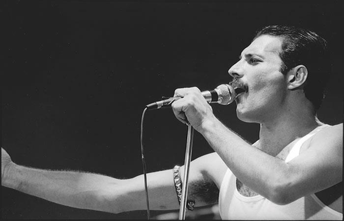"""Canción """"Time"""" con Freddie Mercury. Foto: Instagram"""