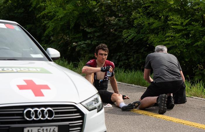 Tour de Francia: Geraint Thomas agradece el apoyo de sus seguidores